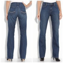 $104  Not Your Daughter's Jeans Blue Barbara Modern Bootcut Stretch Jeans - $33.65