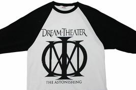 DREAM THEATER Astonishing 2016 TOUR T-SHIRT Fits Medium 3/4 Sleeve Prog ... - $21.03