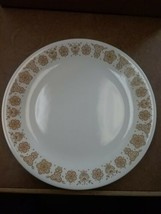 """Vintage Coerning Ware Corelle Butterfly Gold 10.25"""" Dinner Plate EUC - $3.91"""