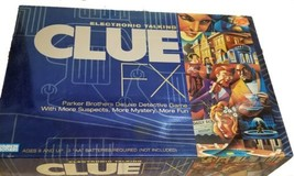 Clue FX Electronic Talking Board Game by Parker Brothers 2003 Complete  - $38.69