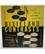 "Delta Kings Dixieland Contrasts 10"" Record Jazz Man 33-1/3 RPM LJ 334 21-10 - $12.30"
