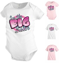 I'm the Big sister Funny Kids T shirt Youth tee Baby Toddler bodysuit K60 - $13.99