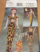 Vogue Gene Doll Clothes Pattern #7326  evening circa 1945 - $14.20