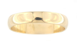 Unisex 14kt Yellow Gold Wedding band - $119.00