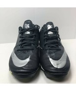 Nike Fastflex Mens Vapor Shark Football Shoes Black Cleats Lace Up Sneak... - $11.38