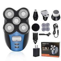 Electric Shaver Razor for Men Bald Head Shaver 5 in 1 Grooming Kit Rechargeable  image 7