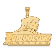 Sterling Silver w/GP LogoArt Providence College XL Pendant - $116.00
