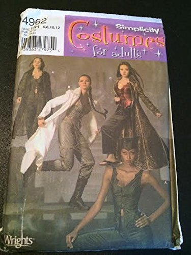 Primary image for Simplicity 4962 Sewing Pattern, Misses' Tomb Raider / Catwoman Costumes, Size HH