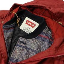 NEW LEVI'S MEN'S PREMIUM 3 WAY HOODED PARKA JACKET COAT RED 718520003 MSRP: $278 image 12