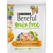 Purina Beneful Grain Free, Natural Dry Dog Food, Grain Free With Real Fa... - $20.86