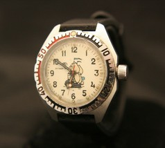 Vintage 1980's Soviet Vostok men's military Amphibia Sailor all steel wristwatch - $103.95