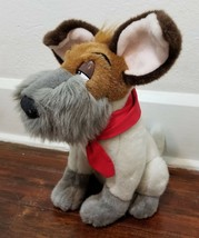 "Disney Store Oliver & Company Dodger Dog 14"" Authentic Exclusive Plush - $12.21"