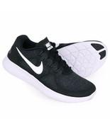 Nike Free RN 2017 Black/White/Dark Grey Running Womens Shoes 880840-001 - $89.95