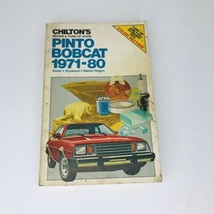 Chilton's (7027) Pinto Bobcat 1971-80 Repair And Tune Up Guide Book Manual - $12.82