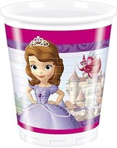 Sofia the 1st Plastic Cups (Pack of 8) - $5.45