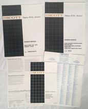 Vintage SCOTT Stereo Hi-Fi Manuals RX210 System PS160 PS270 SA231 ST235A... - $9.89