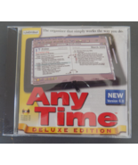 Any Time Deluxe Software - Version 6.0 - by Individual - $18.00