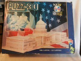 United States Capitol Buidling 3-D Puzzle from Wrebbit 690 Pieces - $37.13