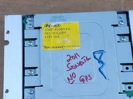 Hyundai Sonata Stereo Radio Amplifier MOBIS 963703Q100, 96370-3Q100, AMP-4600YFA image 3