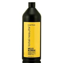 Matrix Total Results Hello Blondie Shampoo Liter - $33.00