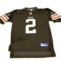 VINTAGE Reebok NFL Cleveland Browns Football Jersey Size Large L Baggy F... - $23.53