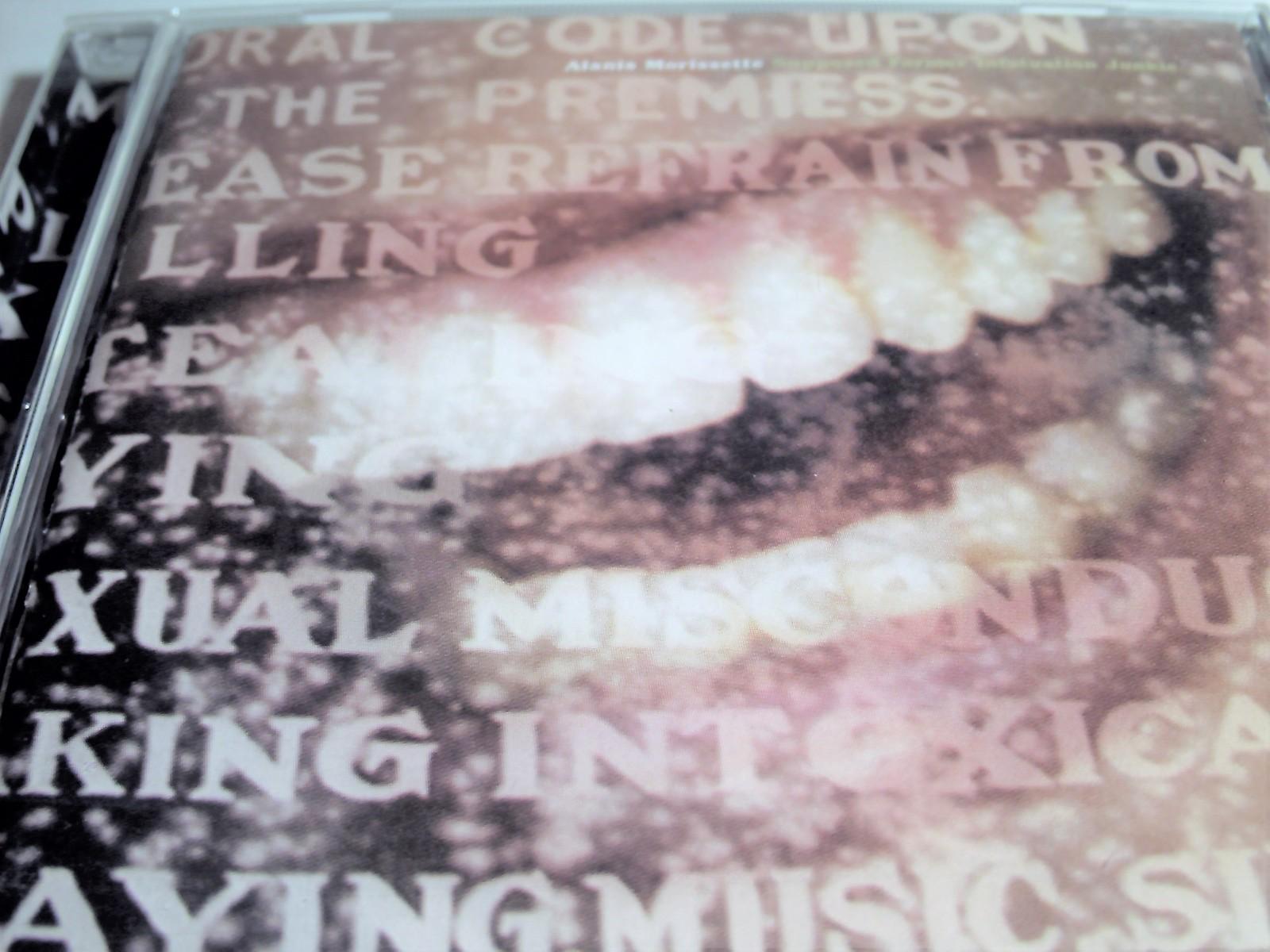 Alanis Morissette Supposed Former Infatuation Junkie CD