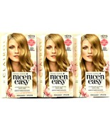 3 Clairol Nice 'n Easy 8C Medium Cool Blonde NEW-NO CONDITIONER Tubes IN... - $19.77