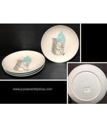 """Bloomingville Mollie Nature Squirrel Ceramic 10"""" Dinner Plates Set of 4 - $39.99"""