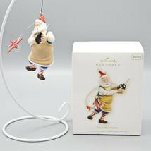 2009 Hallmark Keepsake Ornament Toymaker Santa Series #10 Remote Control... - $17.95