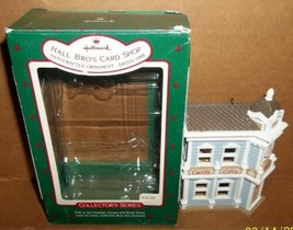 Hallmark Hall Bros Card Shop #5 1988 Nostalgic Houses and Shops Series Ornament - $19.99