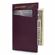 Otto Angelino Genuine Leather Wallet - Bank Cards, Money, Driver's License - Uni