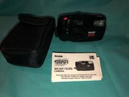 Vintage Kodak Star 535 Sensa Eflash 35mm Camera Nice! Look - $9.49