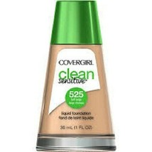 Covergirl Clean Sensitive Liquid Foundation- 525 Buff Beige - $2.99