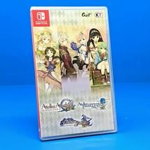 Atelier Dusk Trilogy (Nintendo Switch) ENGLISH USA - Ayesha Escha Logy S... - $134.95