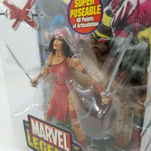 Marvel Legends Elektra Action Figure Series IV 2003 Toy Biz Daredevil Comic NIB