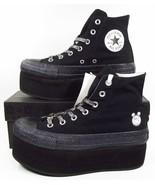 Converse x Miley Cyrus Chuck Taylor Platform Hi BLACK Lift 562241C (Wome... - $129.95