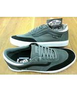 Vans Mens Gilbert Crockett Gunmetal Grey Black White Skate shoes size 13... - $64.34