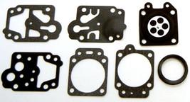 Carburetor Gasket Rebuild Kit Replaces Walbro D20-WYJ HUSKQVARNA 142R - $5.40