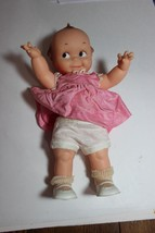 """Vintage? Cameo Doll 11-1/2"""" tall rubber Cute Happy suprise  Doll - $24.95"""