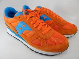 Saucony Shadow Original S1108-601 Women's Running Shoes Sz 7 M (B) EU 38 Orange - $43.90