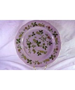 "Japan Petite Flora #4009 Chop Plate or Round Platter 12 1/2"" - $6.29"