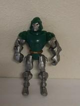 """2013 Marvel Action Figure Villain Hasbro 7"""" Silver/Green Robot Rare - $25.00"""
