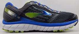 Brooks Ghost 9 Men's Running Shoes Size US 12 M (D) EU 46 Gray Blue 1102331D060