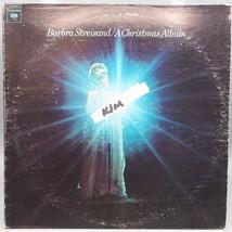 Vintage Barbra Streisand A Christmas Record Album Vinyl LP - $4.94