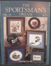Stoney Creek Book 55 SPORTSMAN'S DREAM Counted Cross Stitch Pattern Coll... - $5.00