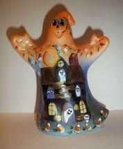 "Fenton Glass ""Spooky"" Halloween Ghost Figurine Cat Candy Corn LE #5/20 K... - $252.15"