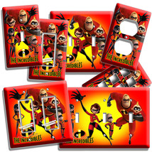The Incredibles Dash Violet Jack Light Switch Wall Plates Outlet Kids Room Decor - $10.99+