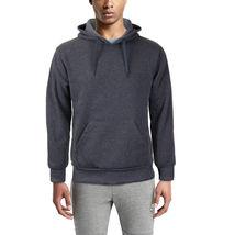 Men's Premium Athletic Drawstring Fleece Lined Sport Gym Sweater Pullover Hoodie image 5