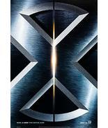 "X-MEN - 27""x40"" D/S Original Movie Poster One Sheet Marvel 2000 Hugh Jac... - $24.49"