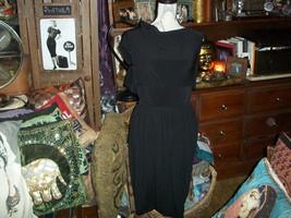 CHARLES NOLAN New York Sassy Jet Black Dress Size 2 - $24.75